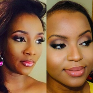 Genevieve Nnaji Makeup-4 crop_Fotor_Collage